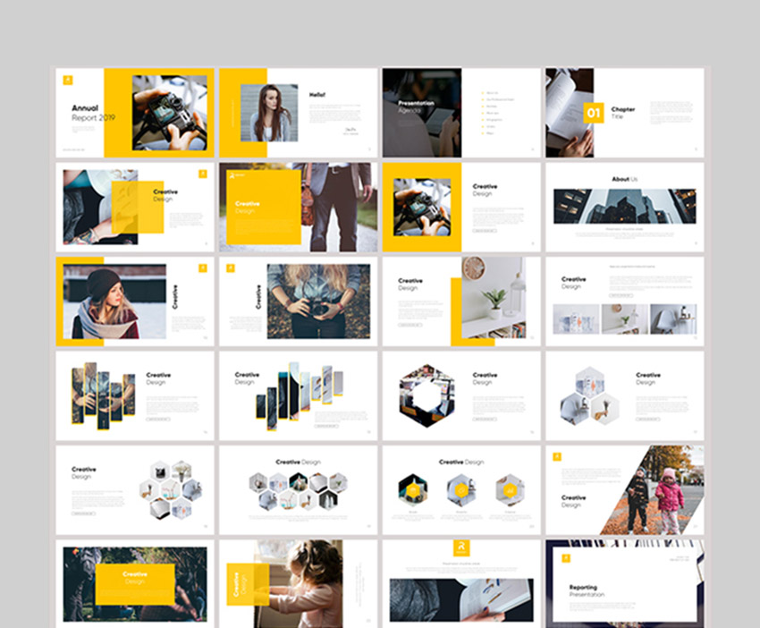 Report Multipurpose PowerPoint Template