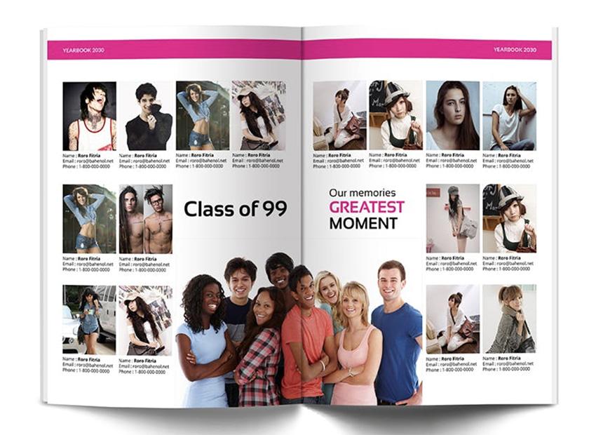 School Yearbook Newsletter