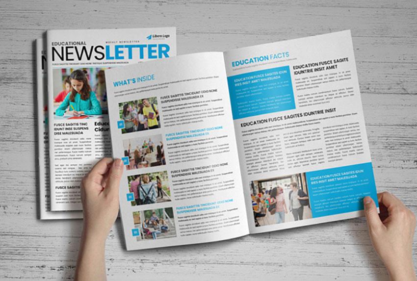 Education Newsletter Template