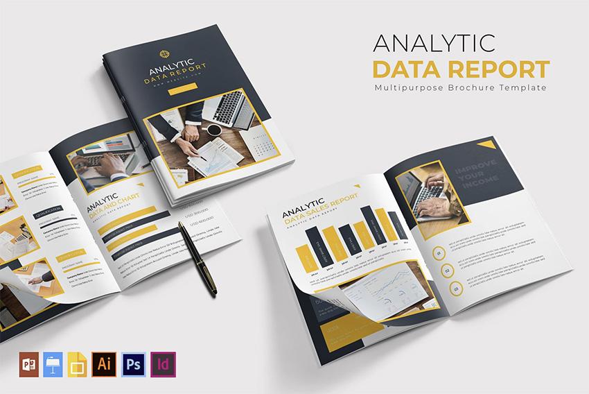 Analytic Data  Report Template