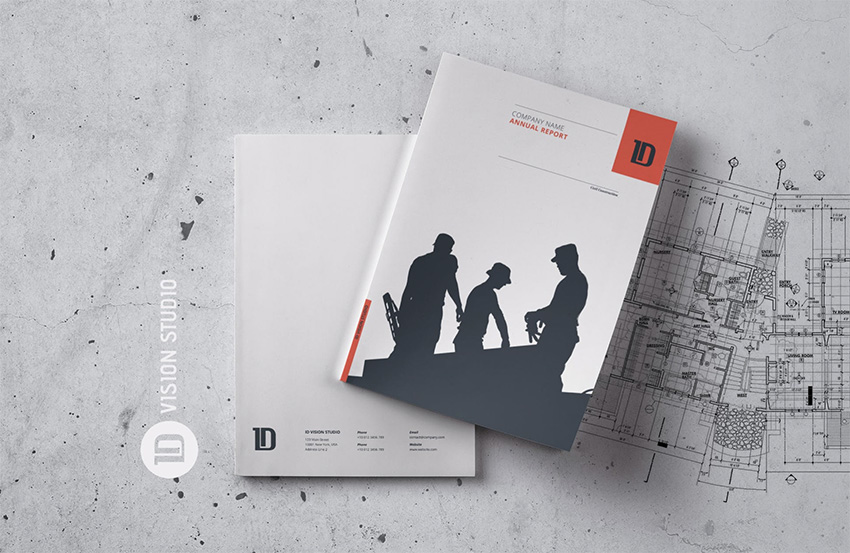 Annual Report Template 001