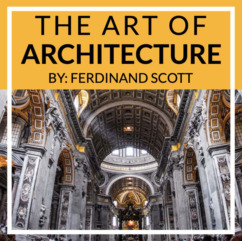 Architecture Podcast Cover Maker with a Simple Design