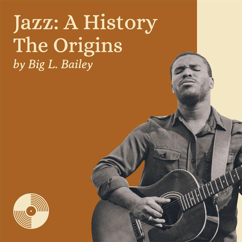 Jazz Music-Themed Podcast Cover Maker