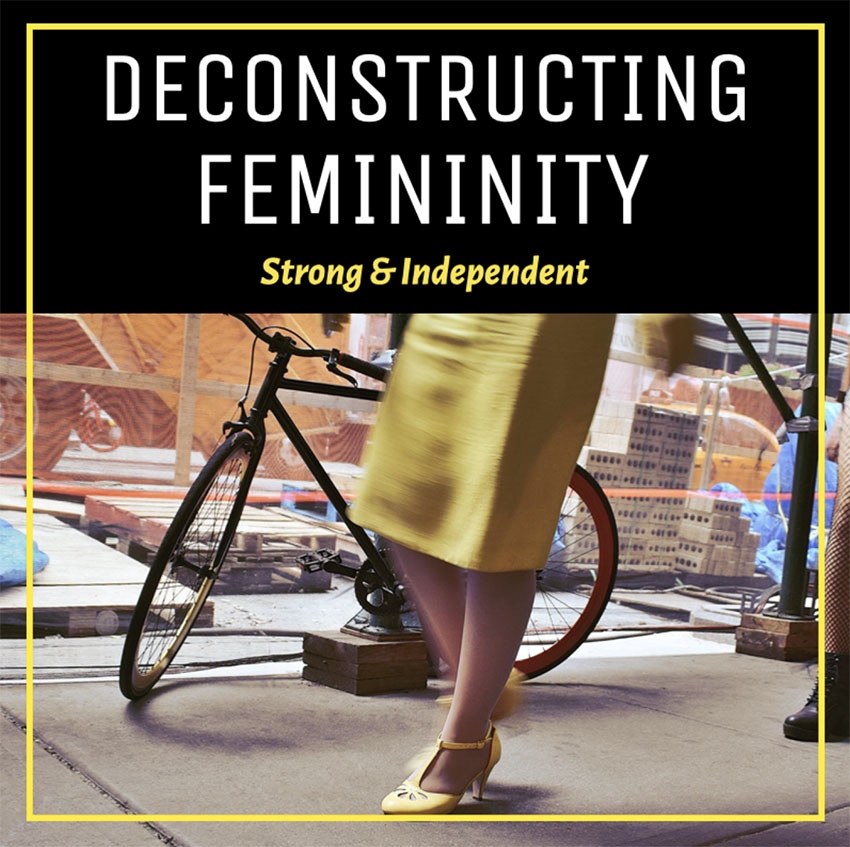 Podcast Cover Creator with a Feminist Theme