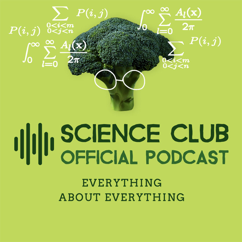 Podcast Cover Design Template for a Science Channel