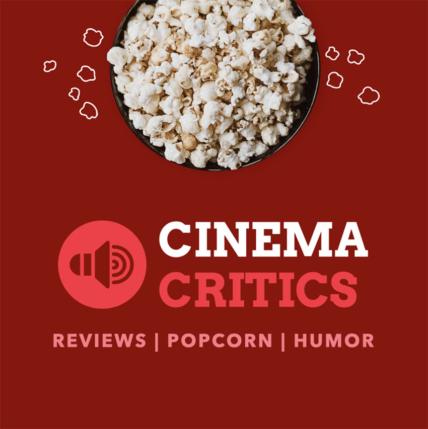 Podcast Cover Maker with a Popcorn Doodle