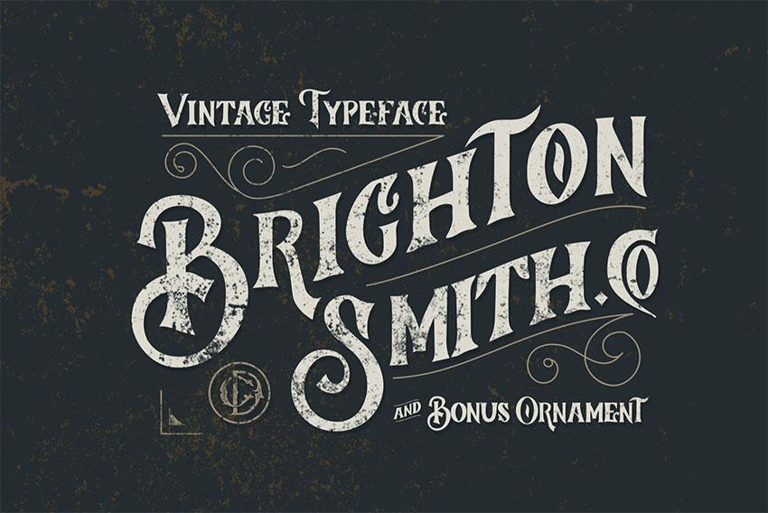 Brighton Smith Typeface