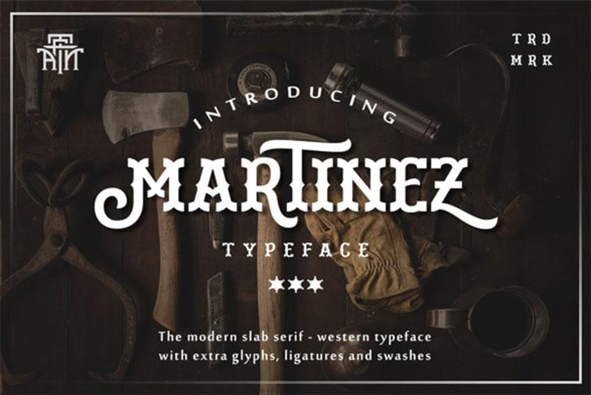 Martinez Typeface