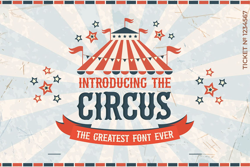 The Circus Font
