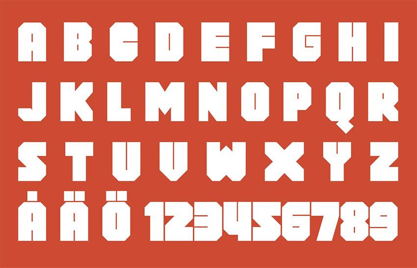 Block Font