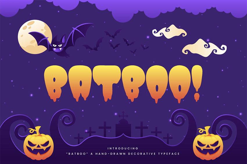 Batboo Kid-like Fonts