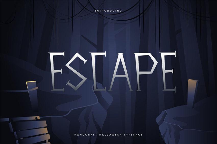 Escape Kid-like Fonts