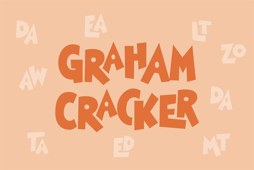 Graham Cracker Kids Bold Font