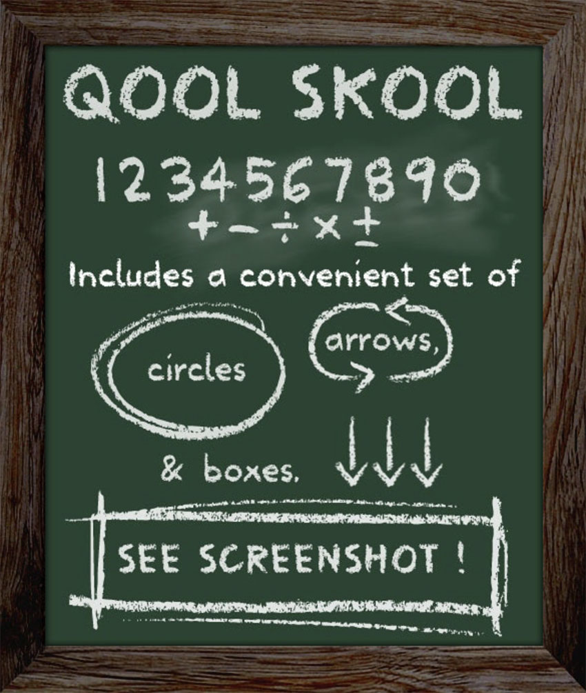 School Type Best Font for Kids