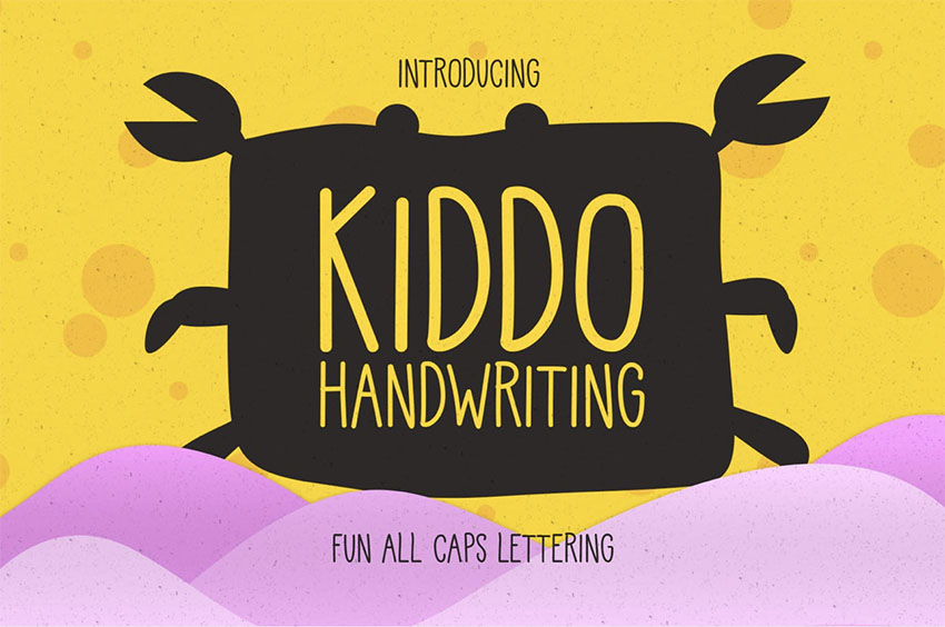 Kiddo Child Handwriting Font