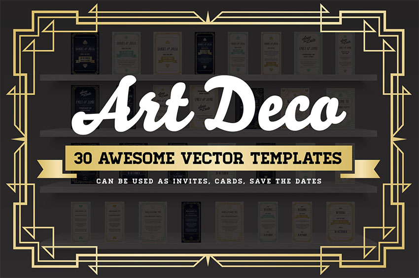 Art Deco Graphic Design