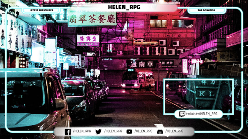Twitch Webcam Overlay