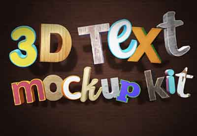 Image of 3D Text