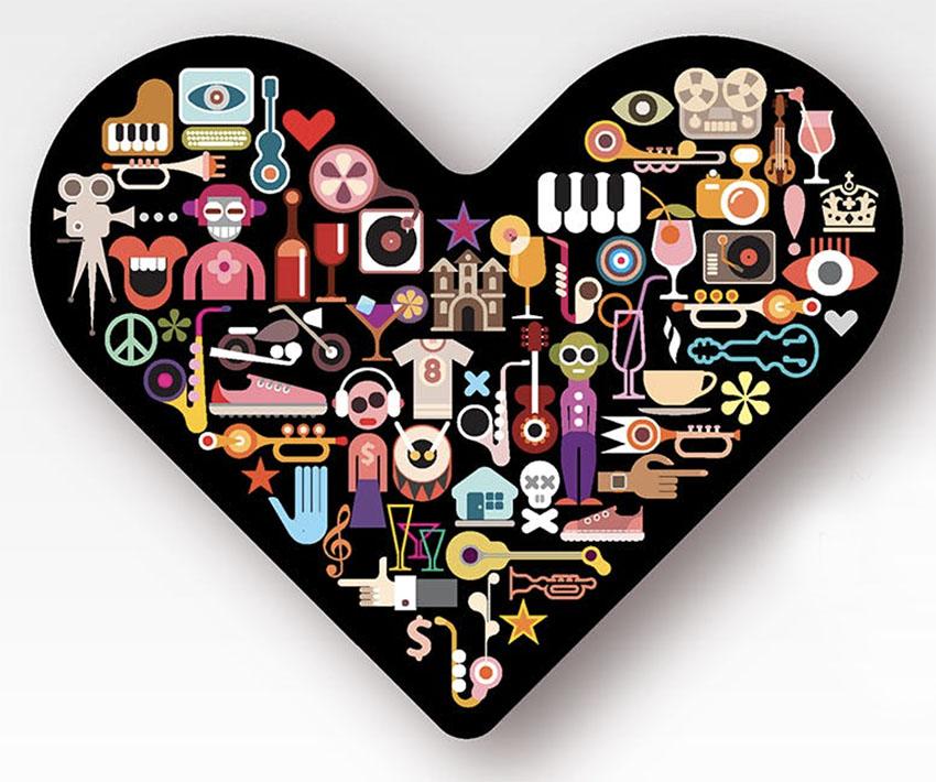 Black Heart Graphic