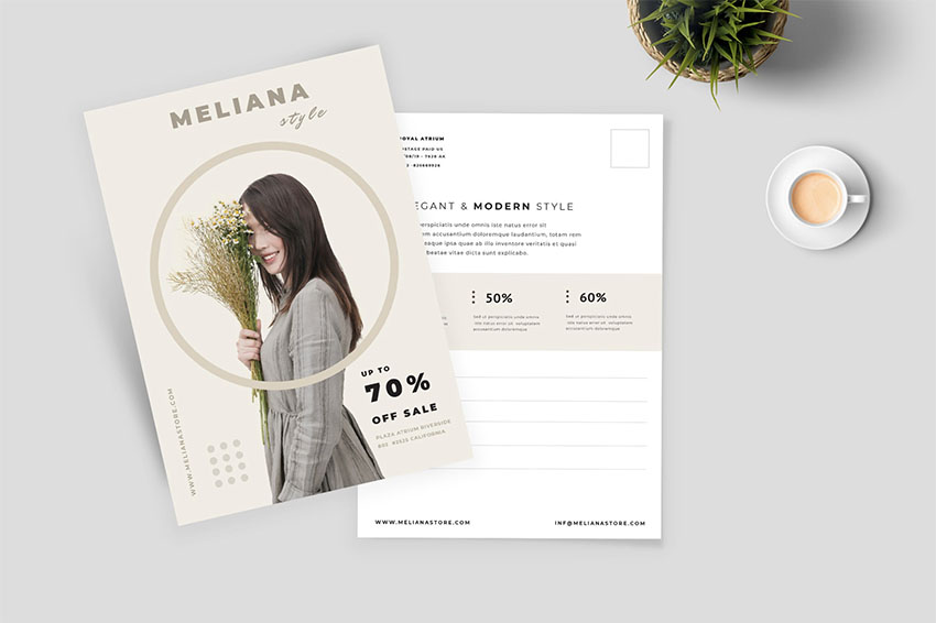 42 Best Postcard Templates Indesign Photoshop And More