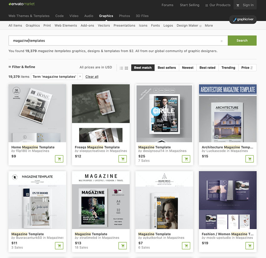 23 Best Free Magazine Templates Cover Layouts To Download