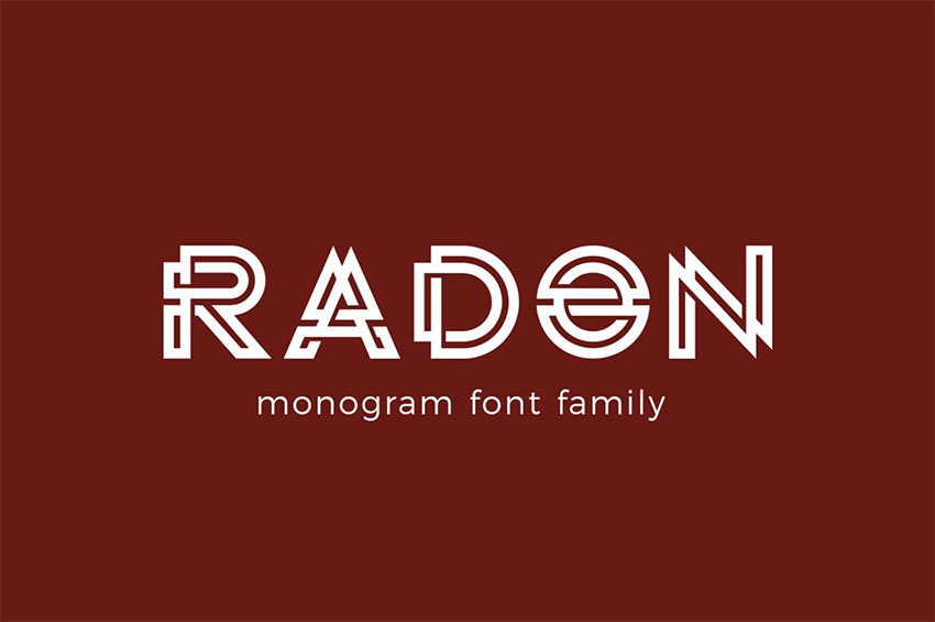 25 Best Free Fonts For Monograms Logos Download Now