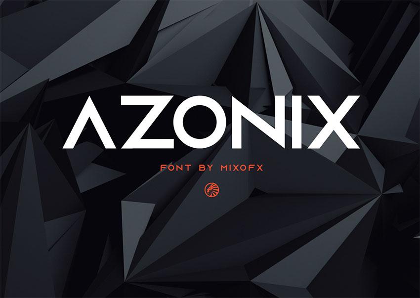 Azonix - Free Monogram Font