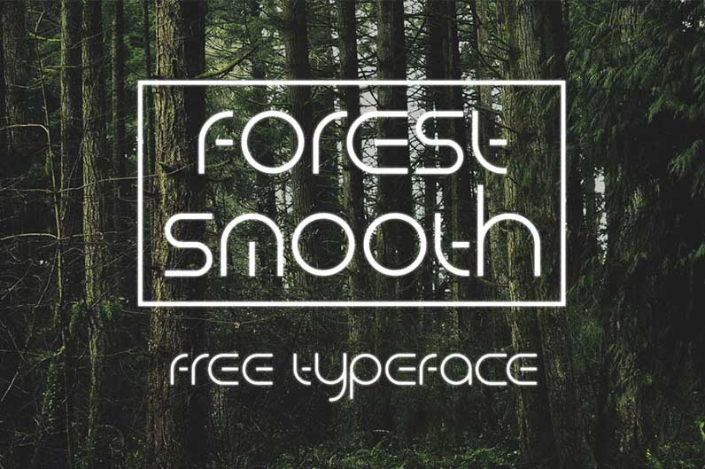 Forest Smooth - make your own monogram