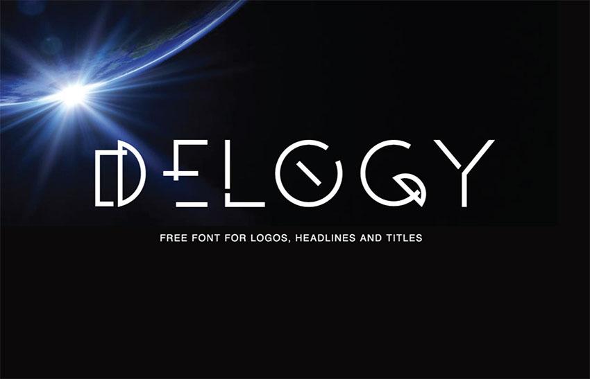 Delogy - Free Monogram Font