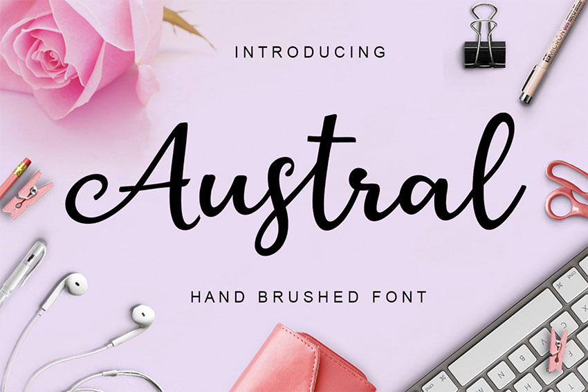 Austral Free Font