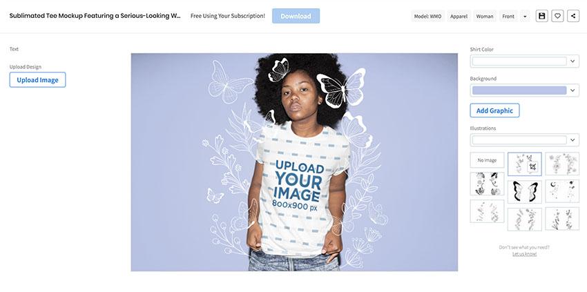 39 Best Sublimation T Shirt Mockups Using A T Shirt Mockup Generator