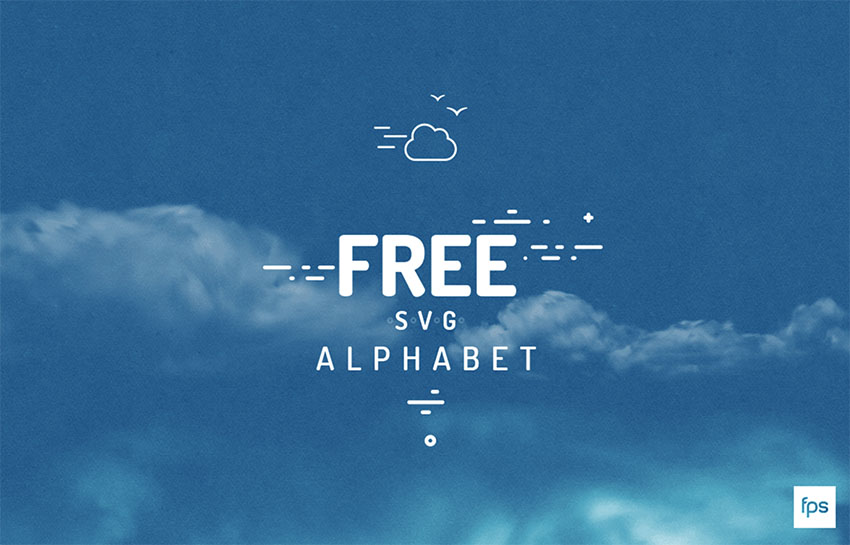 Free SVG Alphabet