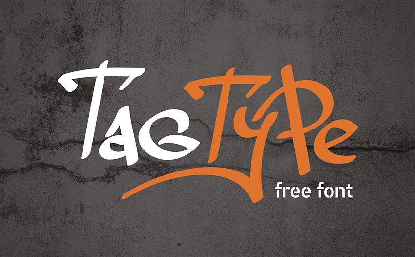 Tag Type - Free Graffiti Font