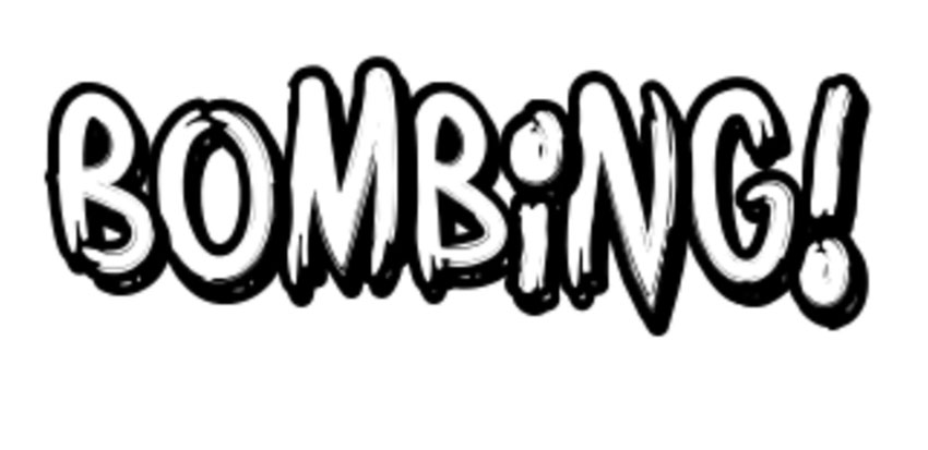 Bombing Best Graffiti Font