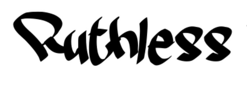 Ruthless Two Graffiti Font