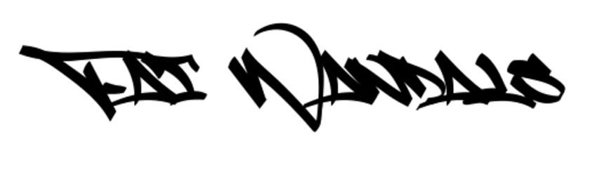 Fat Wandals Graffiti Letters Font