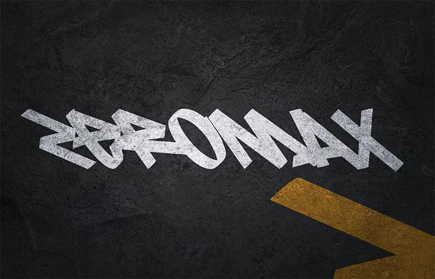 Zeromax - Graffiti Text