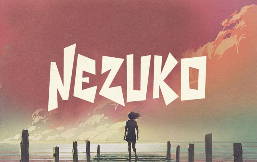 Nezuko Graffiti Letters Font