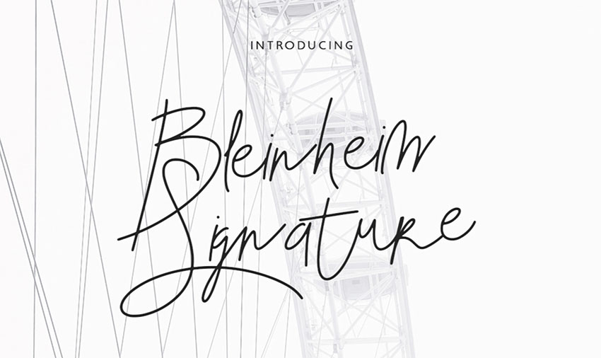 30 Free Signature Fonts Script Fonts To Download Now
