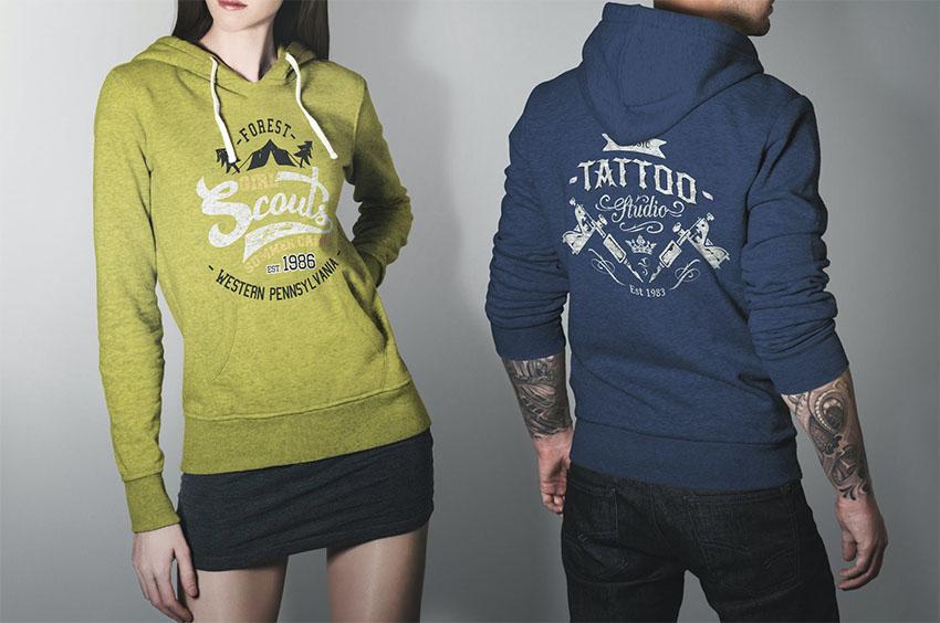 Hoodie Sweatshirt Mockup  Studio Edition