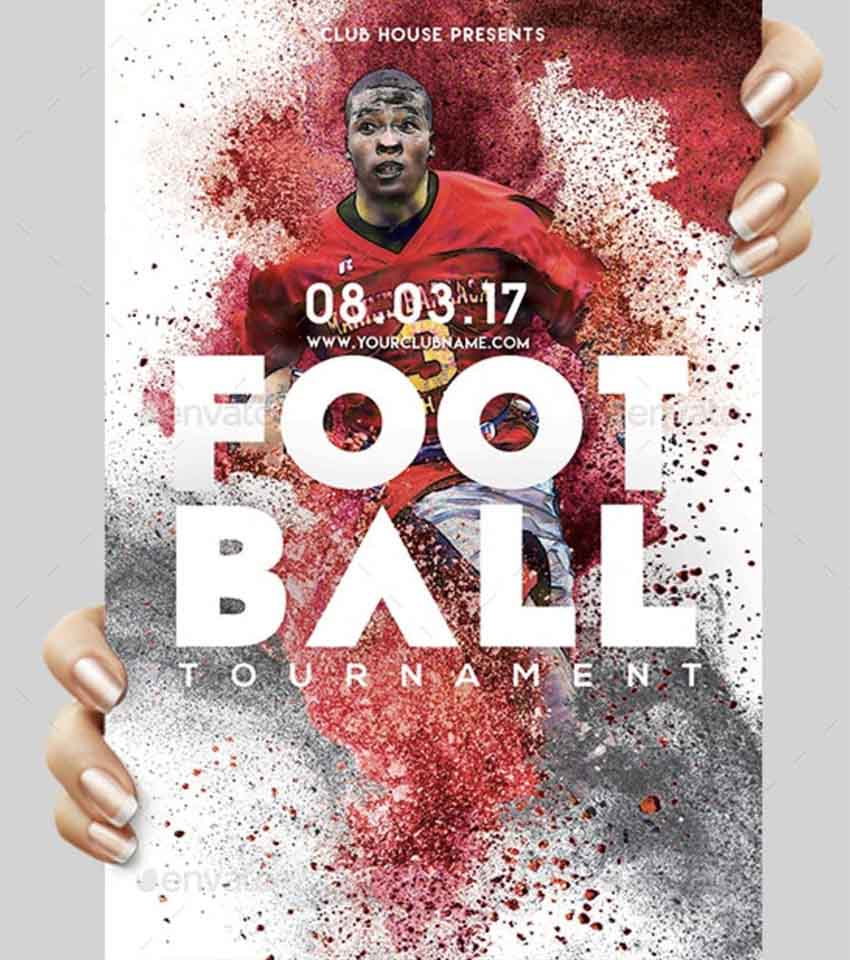 Football Sports Flyer Templates
