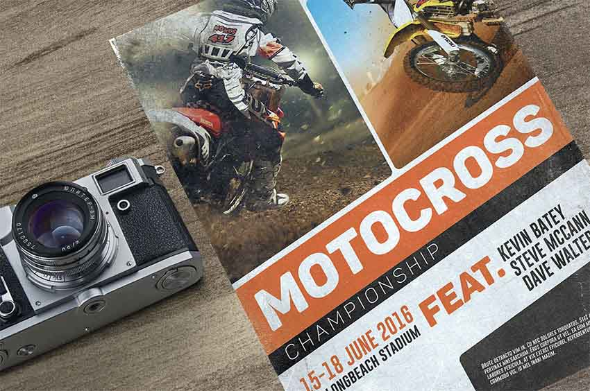 Motorcross Sports Flyer Templates