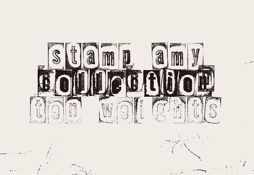 LRC Type - Stamp AMY Collection Free