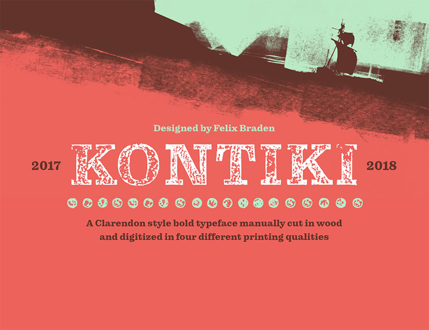 Typeface Kontiki