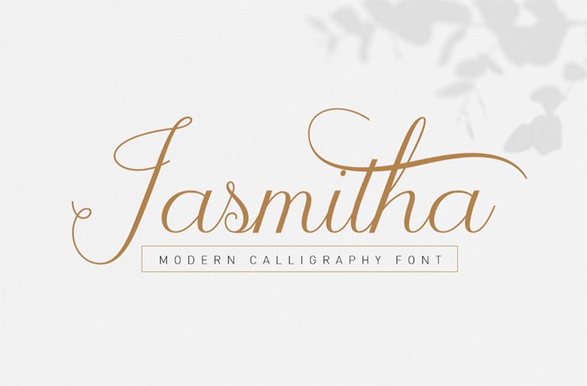 Jasmitha Script