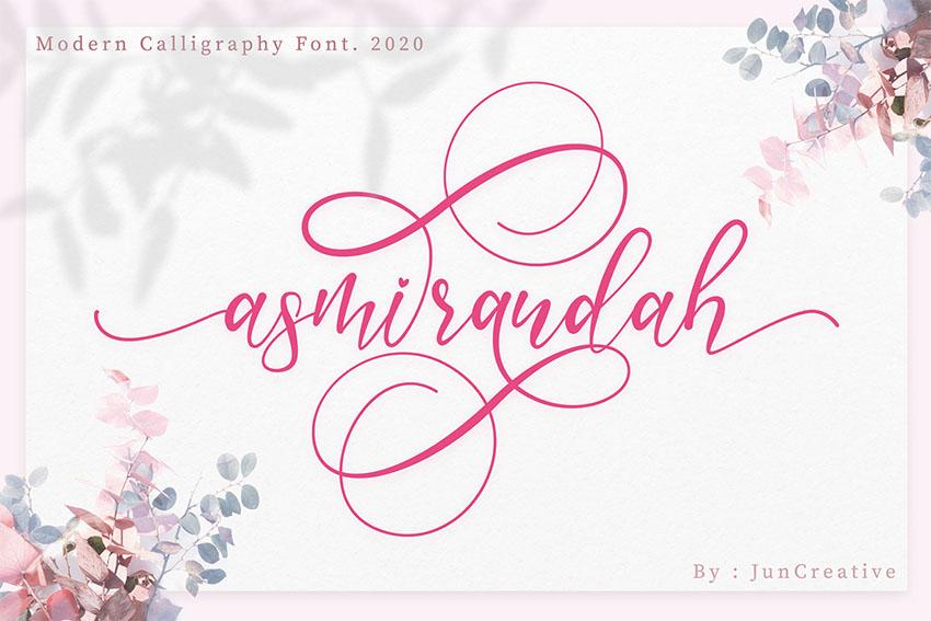 FREE  Asmirandah Modern Script