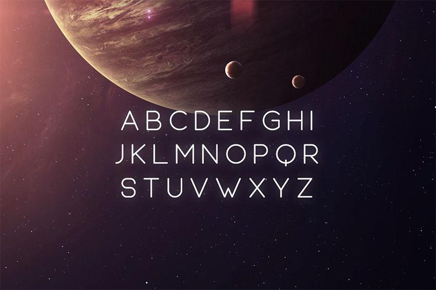 Equinox Typeface
