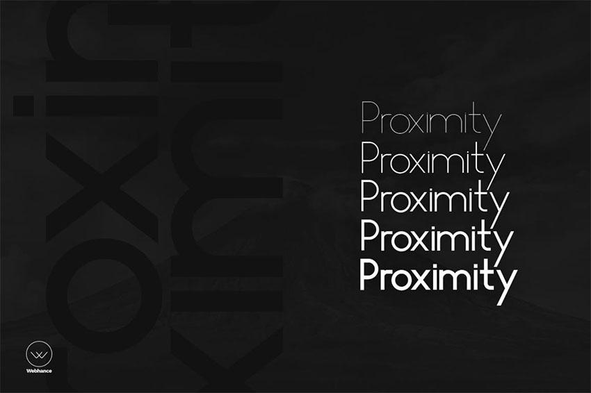 Proximity Sans