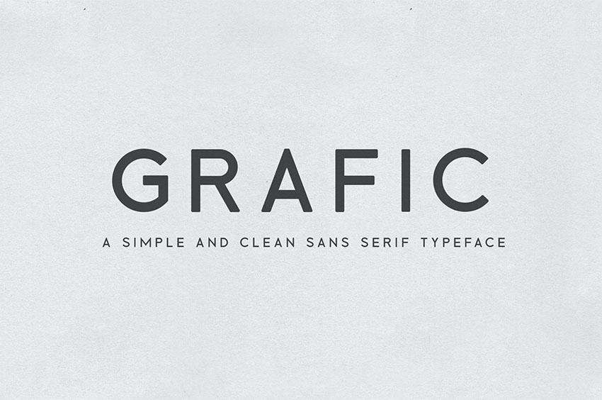Grafic font