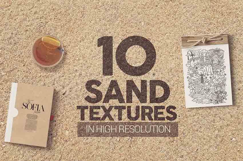 Sand Grain Texture Overlays
